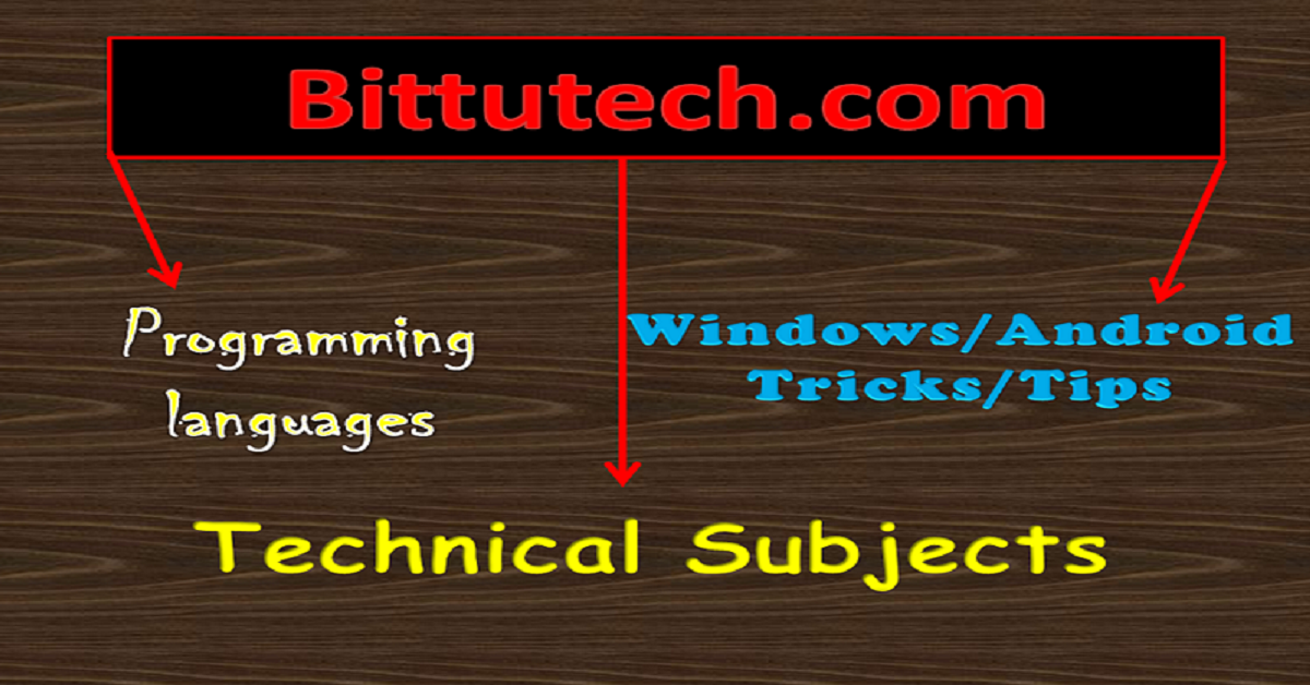 You are currently viewing First Post On My First Site (bittutech.com)