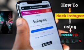 [Instagram Hack]|HiddenEye Hacking Instagram With Kali Linux 2020