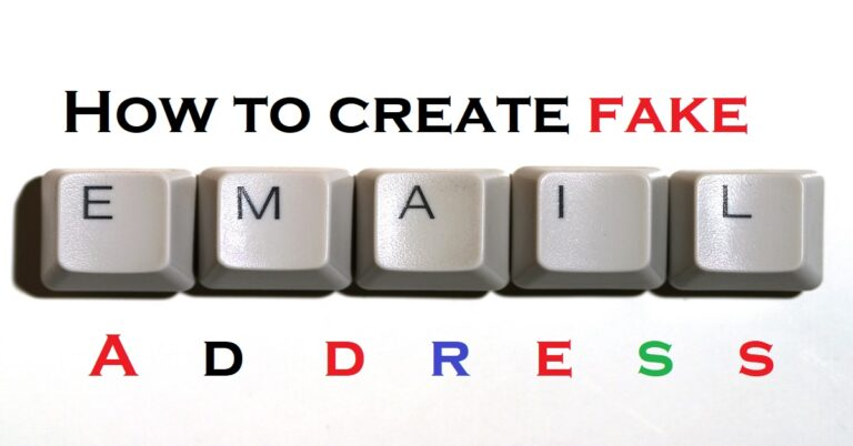 Read more about the article How to Make a Fake Email Address