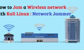How to Jam Wireless Network(Wi-Fi) with Kali Linux | 2020
