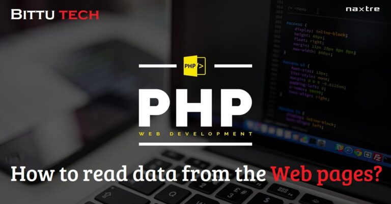 PHP Tutorial: Reading Data in Web Pages