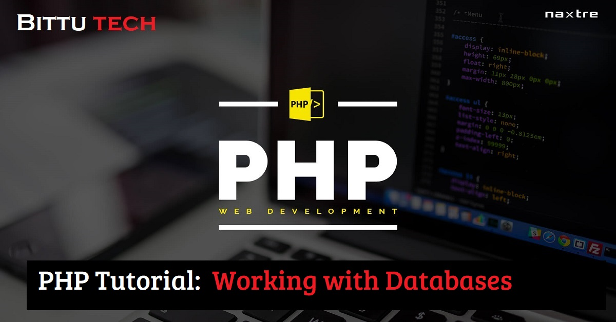 PHP Tutorial: Working with Databases