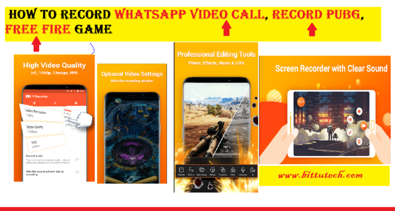How to Record WhatsApp Video Call in an Android mobile phone?.