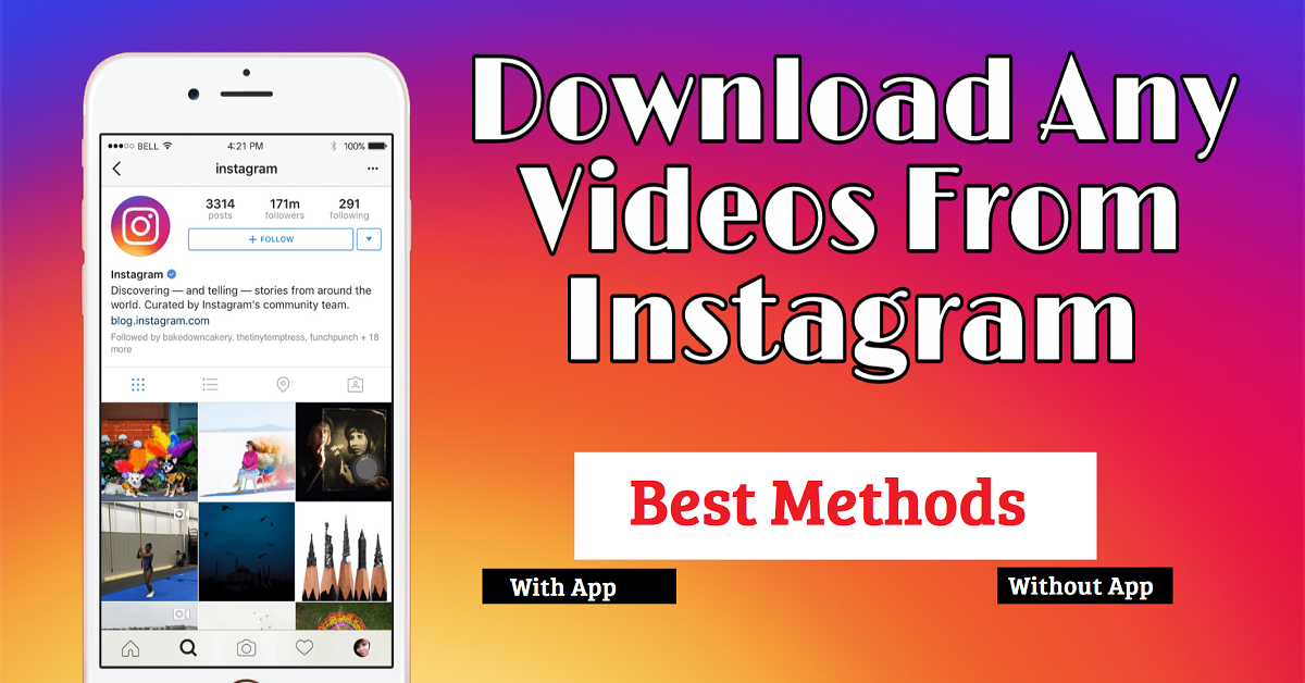 You are currently viewing How to download Instagram stories, reels, posts